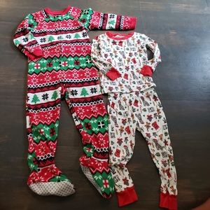 Toddler Boy Holiday Pajamas - Size 2T